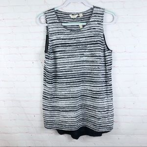Lucky Brand Echo Tank Hi Lo Top Textured 7W51003
